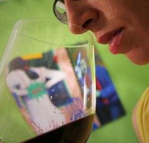catando vino