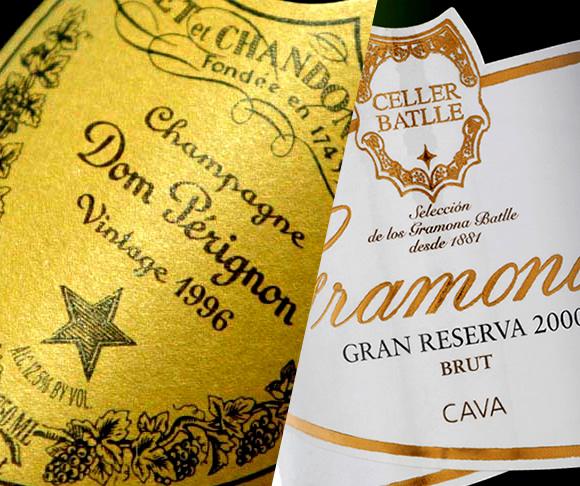 Champagne y cava, similitudes y diferencias