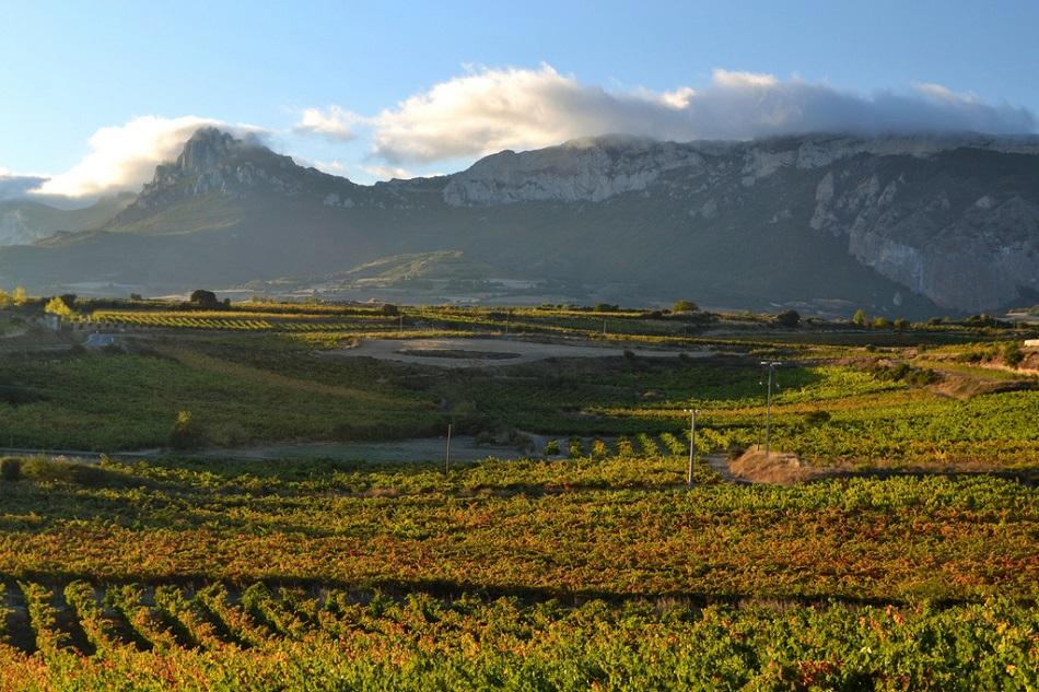 El efecto Föhn sobre la Sierra de Cantabria. Fotografía de Gorka Mauleon