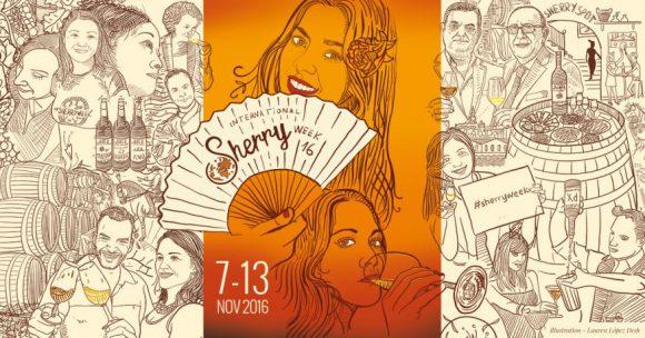 Cartel de la edición 2016 de la SherryWeek