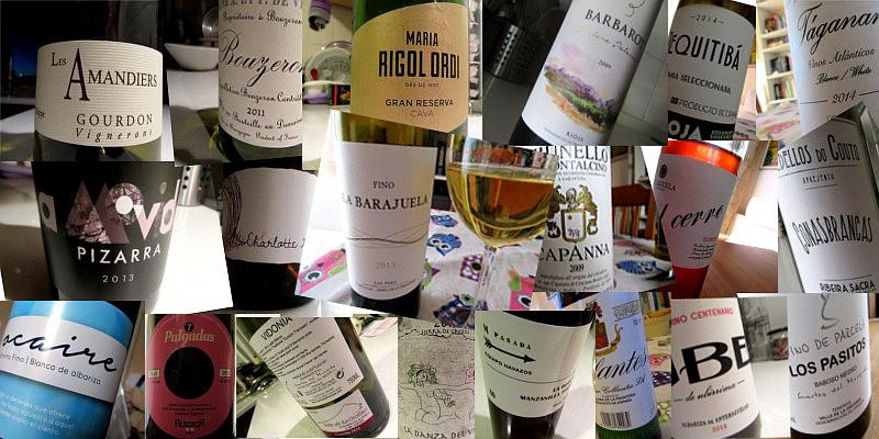 Un año -2016- y veinte vinos