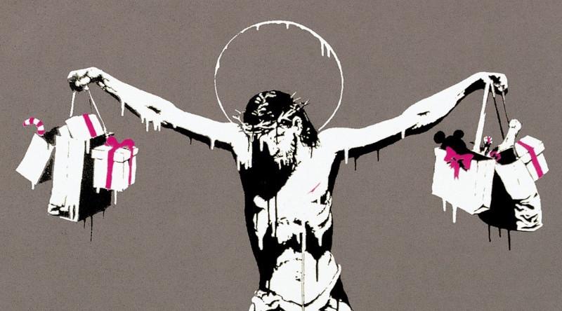 El Cristo de Banksy