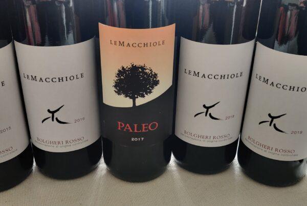 Botellas de Le Macchiole